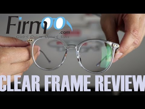 Firmoo Clear Framed Glasses Review Inspired by JACOB STARR