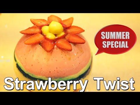 Strawberry Twist | Special Summer Strawberry Twist | Yummy Street Food
