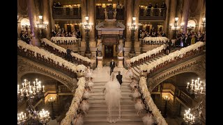 Watch this breathtaking bridal entrance at Opera garnier, Paris !