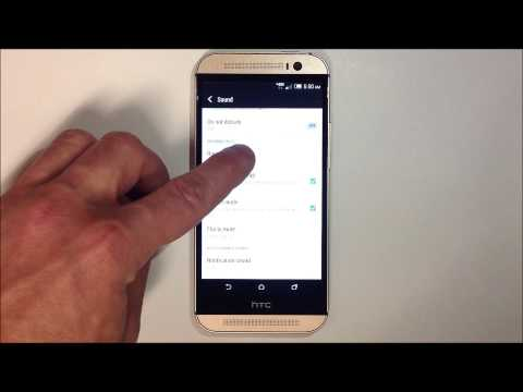 How to Change your Ringtone - HTC One