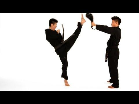 How to Do a Jump Front Kick | Taekwondo Training