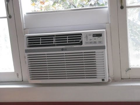 Install an Air Conditioner in an Old-Fashioned Casement Window