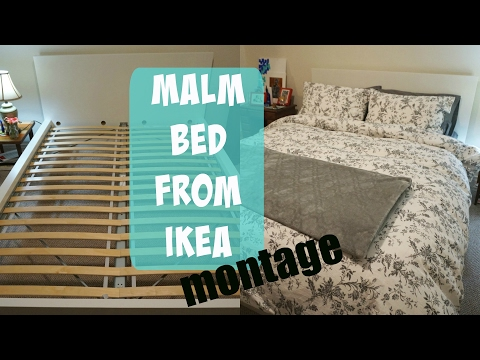 MY NEW BED! | IKEA Malm Bed Montage | Hana Belle Vlogs