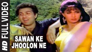Sawan Ke Jhoolon Ne Full Song | Nigahen | Sridevi, Sunny Deol