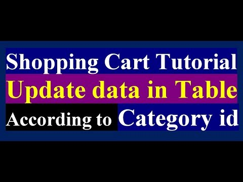 How To Update or Edit Product From MySQL Table Using PHP | Online Shop | PHP MySQL Tutorial | Part 8