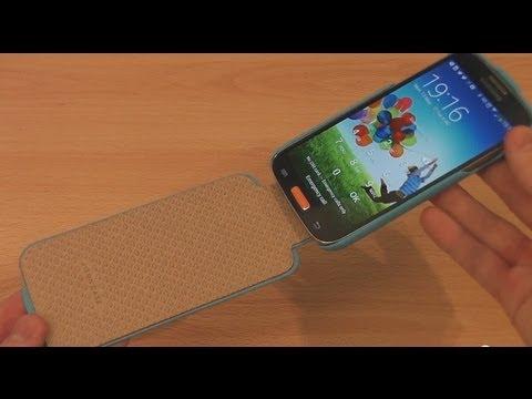 Jisoncase Samsung Galaxy S4 Flip Case