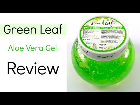 Green Leaf Aloe Vera Gel Review
