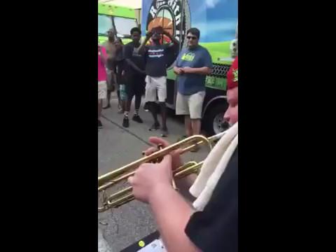Jake Ball Trumpet Solo w/ The Cincy Brass at The Taste of Cincinnati