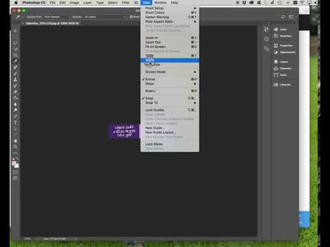 Finding hexadecimal colour values in Photoshop