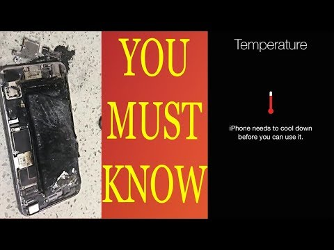 HOW TO HANDLE IPHONE EXTREME TEMPERATURE WARNINGS
