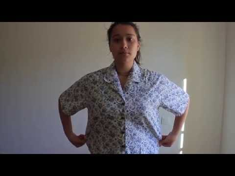 [Sewing tutorial] How to resize a large shirt