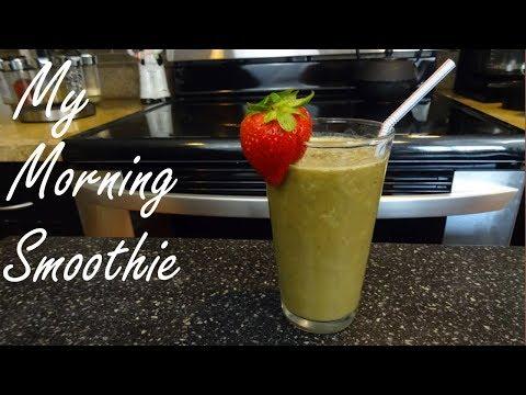 Green Smoothie Recipe - Healthy Kale Smoothie