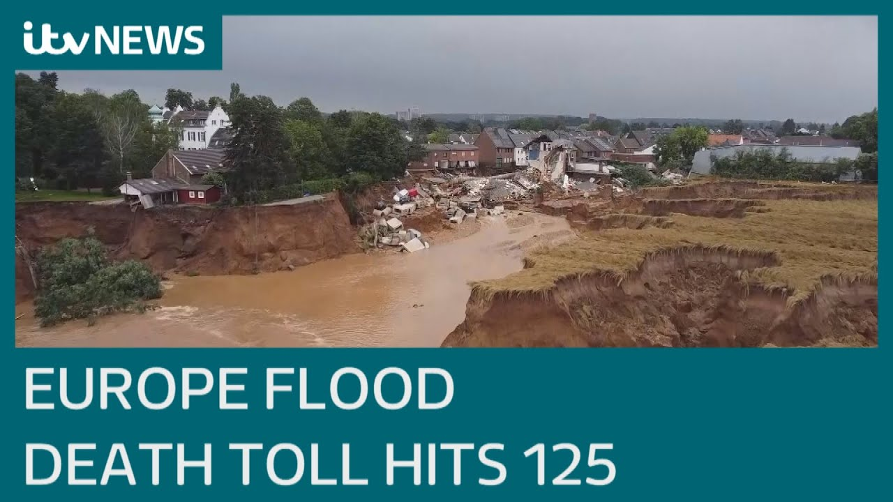 Race to rescue missing hundreds as death toll from European floods rises to 125   ITV News