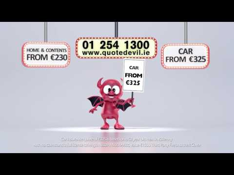 Quote Devil for Low Cost Car Insurance & Home Insurance in Ireland