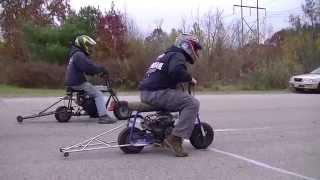 Halloween Hangover Minibike Drag Races 11 01 2015