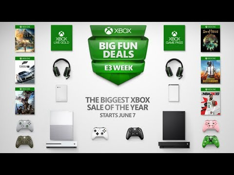 The Biggest Xbox Sale of the Year Hits During E3 Week - Xbox One X Price Drops $50