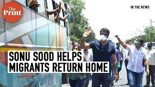 Sonu Sood arranges safe travel for migrants workers returning to home