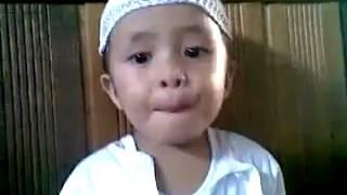 طفل اندونيسي ماشاء الله عليه
