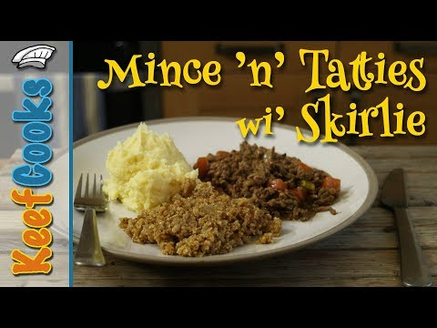 Mince and Tatties with Skirlie | Scottish Comfort Food