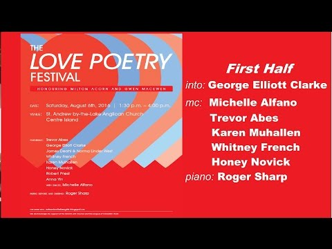 LOVE POETRY FESTIVAL 2016 - First Half
