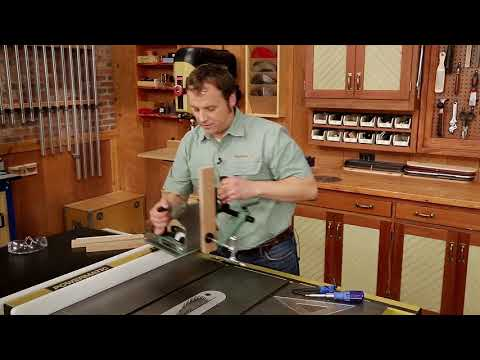 How-To: Setting up a Tenoning Jig