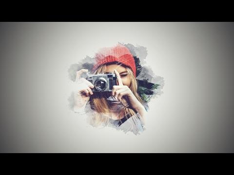 Photoshop Tutorial: Brush Effect Portrait (Brush) | Photo Manipulation | Photoshop CC