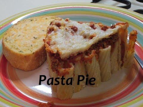 Pasta Pie - Pinterest Recipe