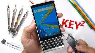 BlackBerry KEY2 - Does the screen fall off?