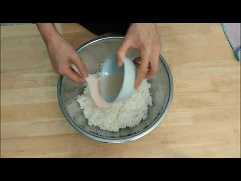 How to make Sushi Vinegar and Sushi Rice? (日本語字幕あり)