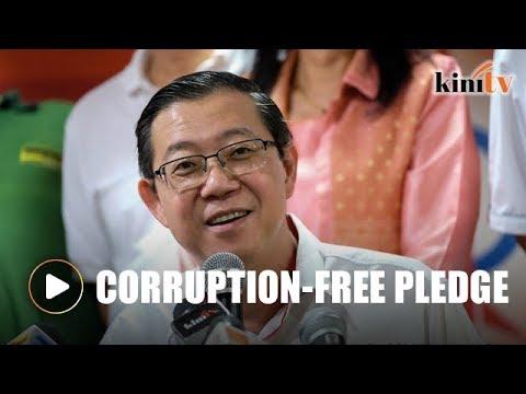 Penang signs MACC's corruption-free pledge