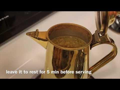 How To Make Arabic Coffee (Saudi Style)