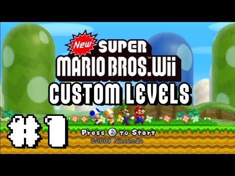 New Super Mario Bros Wii Custom Levels: Oh Geez...