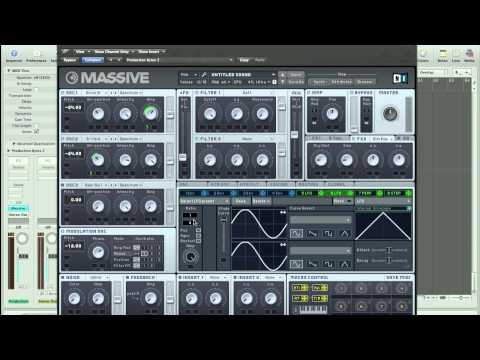 How to Make a Talking Vowel Bass sound like Skrillex or Borgore