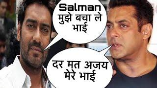 Salman Khan फिर बने God Father, Ajay Devgn को एसे निकाला इस मुसीबत से, Ajay-Salman है Best friends