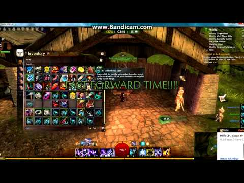 P.N. Plays Guild Wars 2 - Buying 100 Dyes gamble.