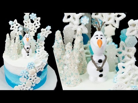 Olaf Cake (Frozen Cake) from Cookies Cupcakes and Cardio