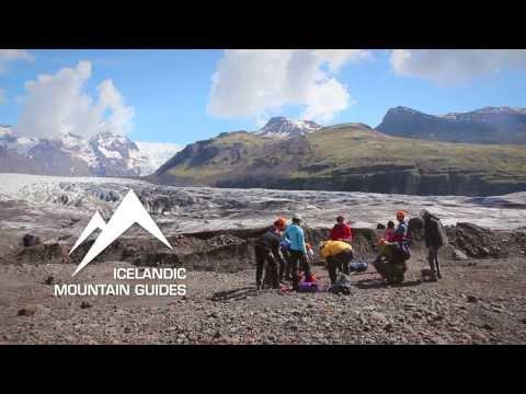 Ice Climbing Tour in Skaftafell Iceland