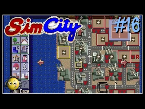 Let's Play Sim City (SNES) Part 16: Scenario-Boston Nuclear Meltdown 2010