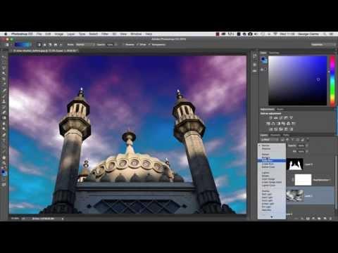 Create beautiful sunset clouds from scratch in Photoshop CC