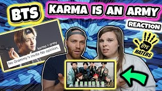Download karma is an army BTS REACTION Video