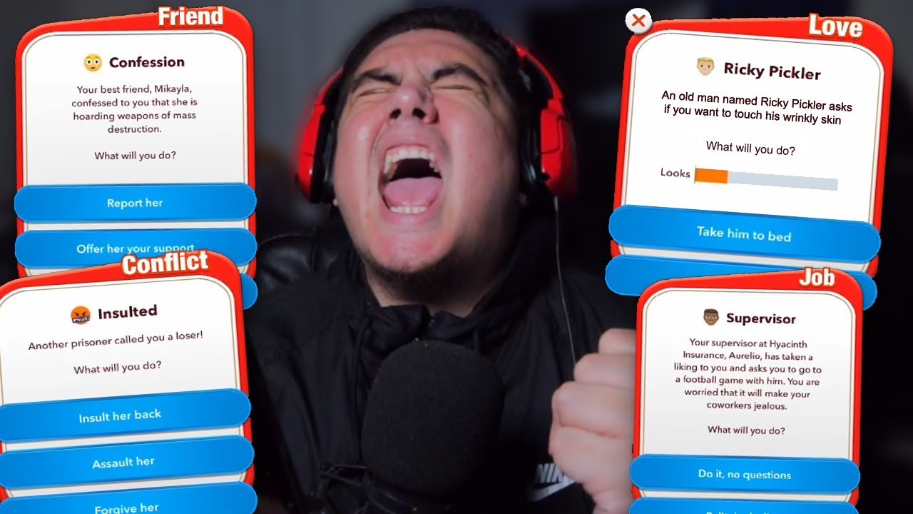 YES TO EVERYTHING CHALLENGE GOT REAL WEIRD, REAL FAST   BitLife (Hilarious Life Simulator)