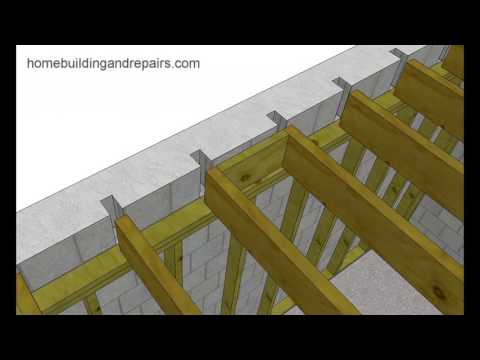 Problems Replacing Wood Joists Embedded In Block Walls – Building Repair Tips