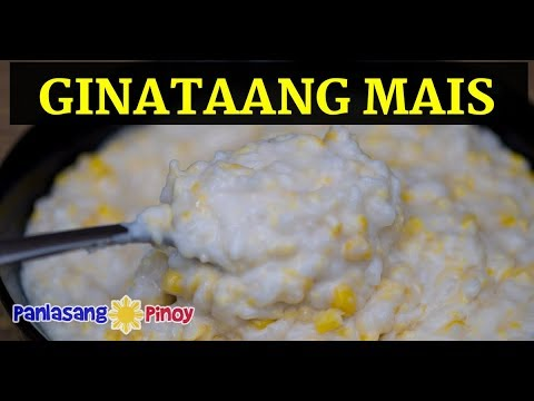 Ginataang Mais Recipe