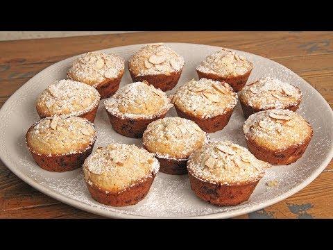 White Chocolate Almond Muffins   Episode 1238