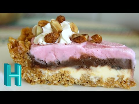 How to Make Ice Cream Pie |  Hilah Cooking