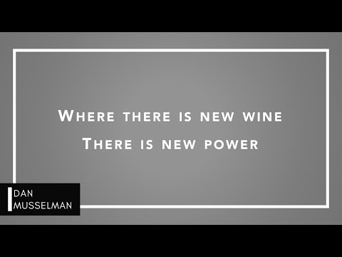 NEW WINE - Piano Instrumental with Lyrics - Hillsong - There Is More
