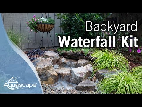 How to Create a Backyard Waterfall