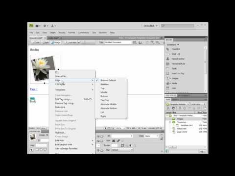 Adobe Dreamweaver: Templates - 4. Update Your Template