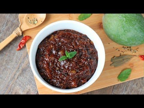 কাঁচা আমের টক ঝাল মিষ্টি চাটনি | Kacha Amer Achar | Green Mango Chutney Recipe | Amer Achar