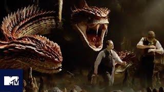 Fantastic Beasts EXCLUSIVE Deleted Scene Reveals New Creature, The Runespoor   MTV Movies